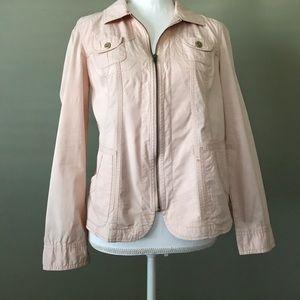 Chico's pink lightweight jacket